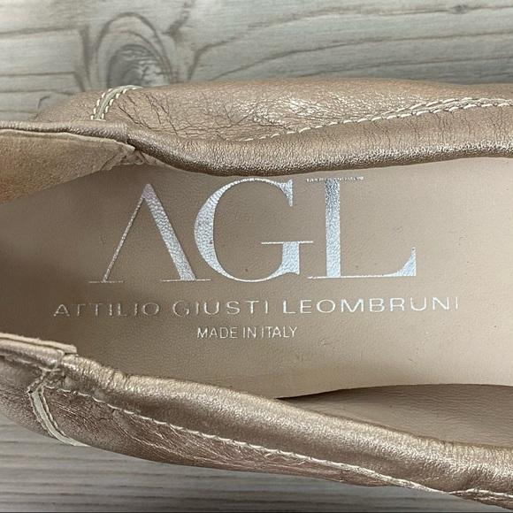 Agl Shoes   Agl Cap Toe Ballet Flats   Poshmark